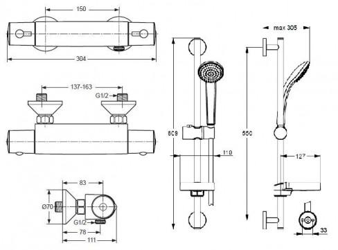 ideal standard a4508aa b9501aa pigiau. Black Bedroom Furniture Sets. Home Design Ideas